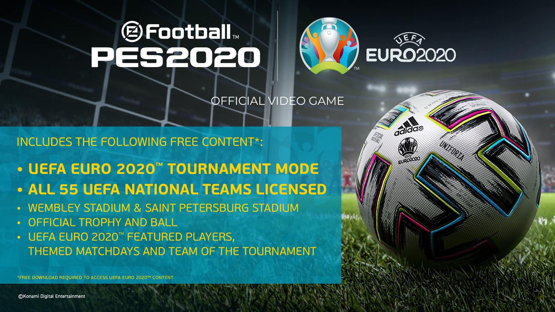 Pes 2020 / Euro 2020
