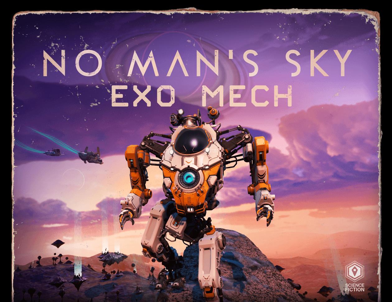 آپدیت Exo Mech بازی No Man's Sky