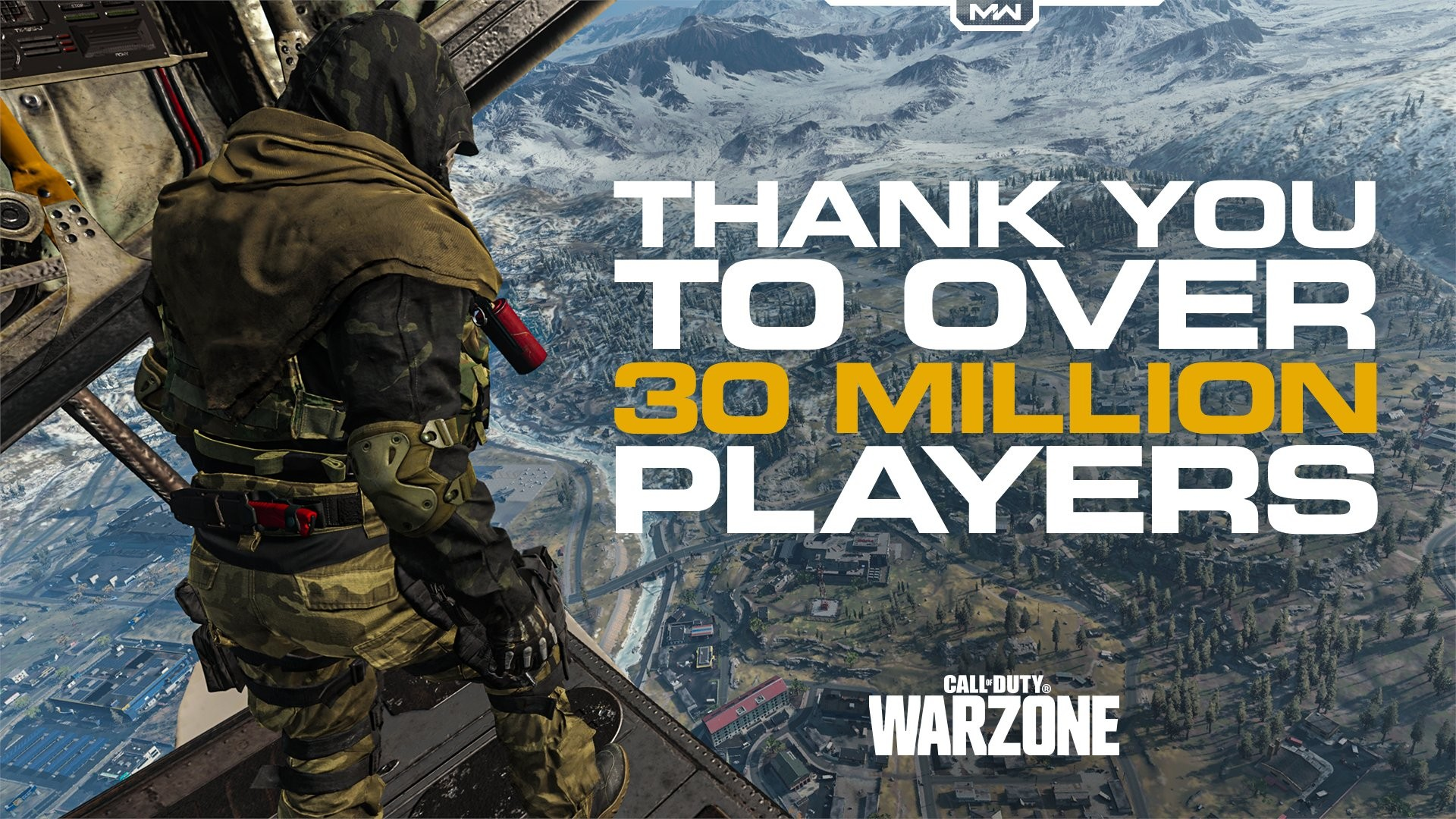 Call of Duty: Warzone 30 million